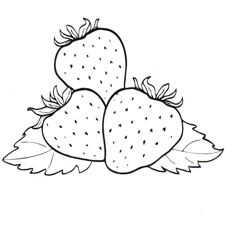 Красивые картинки для раскраски фрукты и овощи - подборка 16