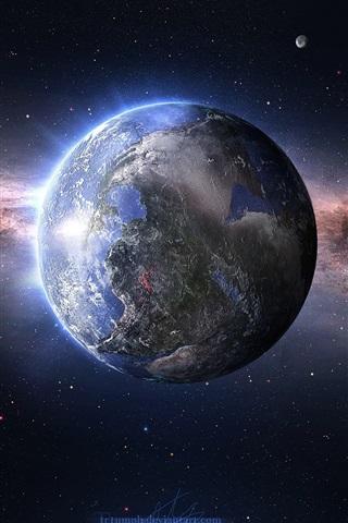 Красивые картинки планеты Земля на телефон - сборка 5