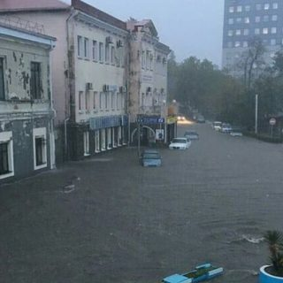 Наводнение в Туапсе. Последствия, фотографии, новости 1