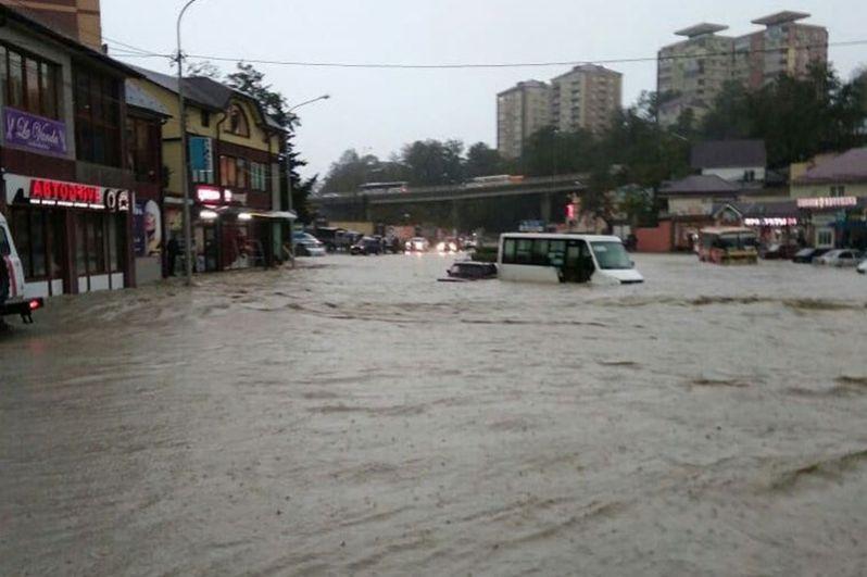 Наводнение в Туапсе. Последствия, фотографии, новости 2