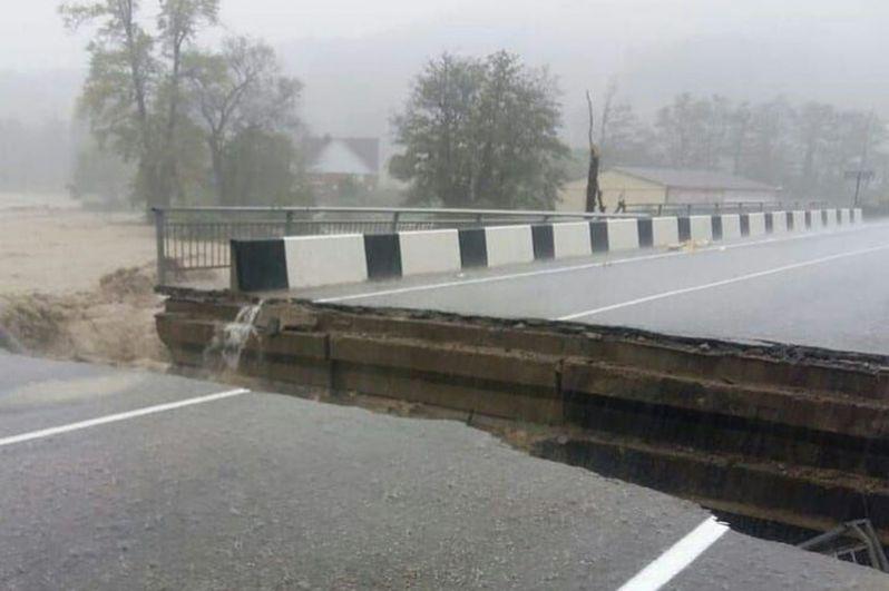 Наводнение в Туапсе. Последствия, фотографии, новости 3