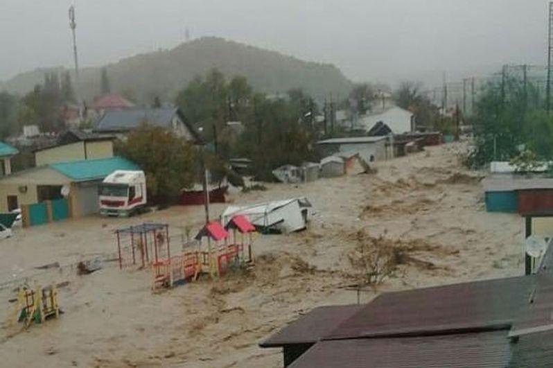 Наводнение в Туапсе. Последствия, фотографии, новости 4