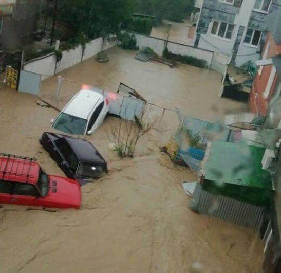 Наводнение в Туапсе. Последствия, фотографии, новости 5