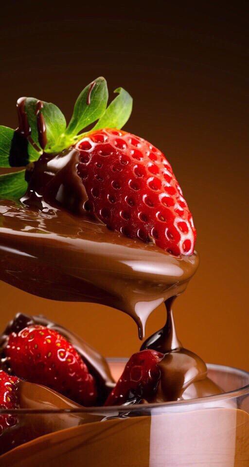 Невероятные картинки клубники, клубники в шоколаде, фото 11