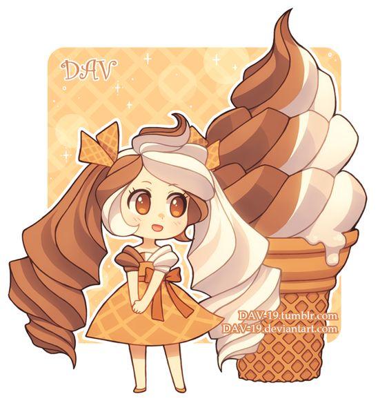 Няшные картинки сладости и десерты - картинки, рисунки для девочек 11
