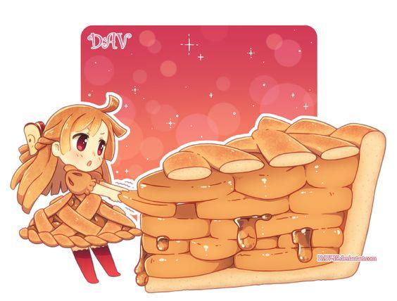 Няшные картинки сладости и десерты - картинки, рисунки для девочек 20