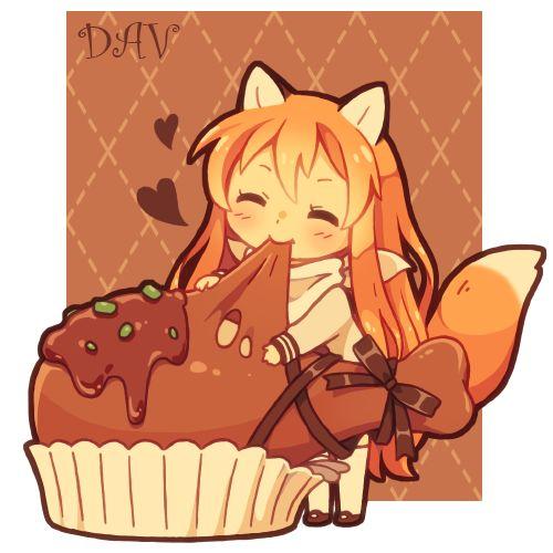 Няшные картинки сладости и десерты - картинки, рисунки для девочек 6