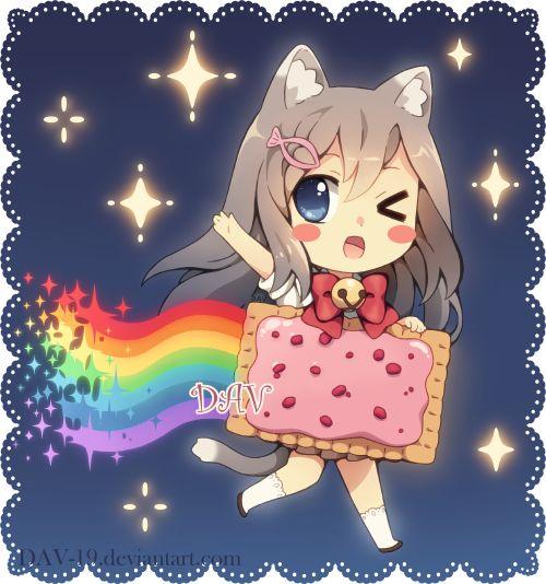 Няшные картинки сладости и десерты - картинки, рисунки для девочек 8