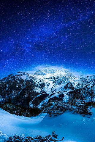 Обои и картинки про зиму на заставку телефона - самые красивые 14