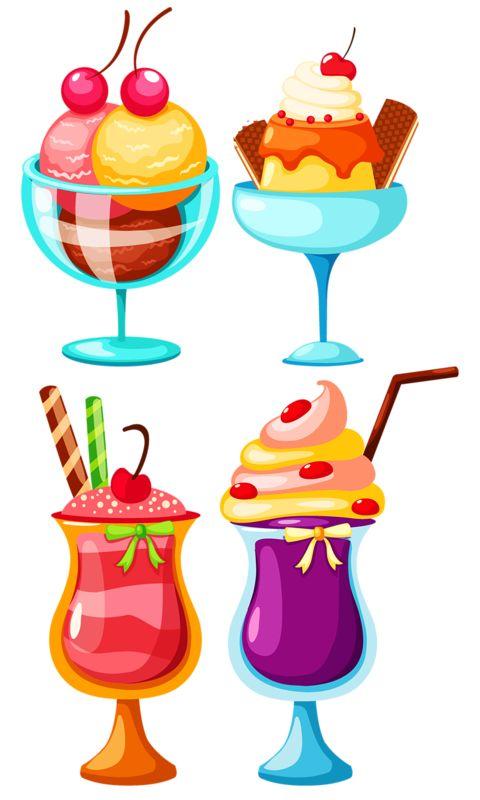 Прикольные и красивые арт-картинки сладостей и вкусностей - сборка 13
