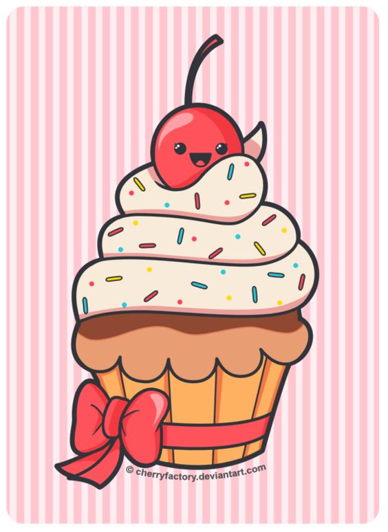 Прикольные и красивые арт-картинки сладостей и вкусностей - сборка 18