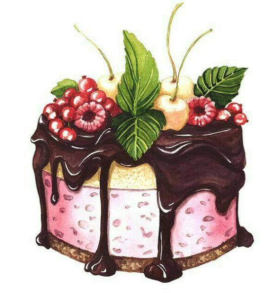 Прикольные и красивые арт-картинки сладостей и вкусностей - сборка 25