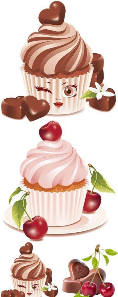 Прикольные и красивые арт-картинки сладостей и вкусностей - сборка 27