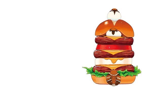 Прикольные и красивые арт-картинки сладостей и вкусностей - сборка 6