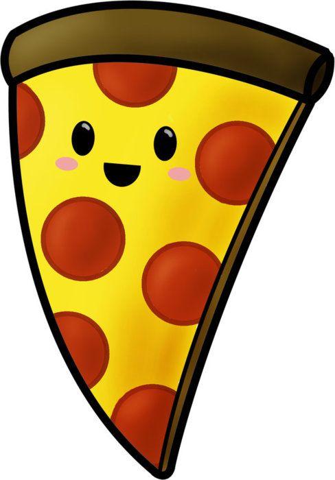Прикольные и необычные картинки пиццы для срисовки - сборка 14
