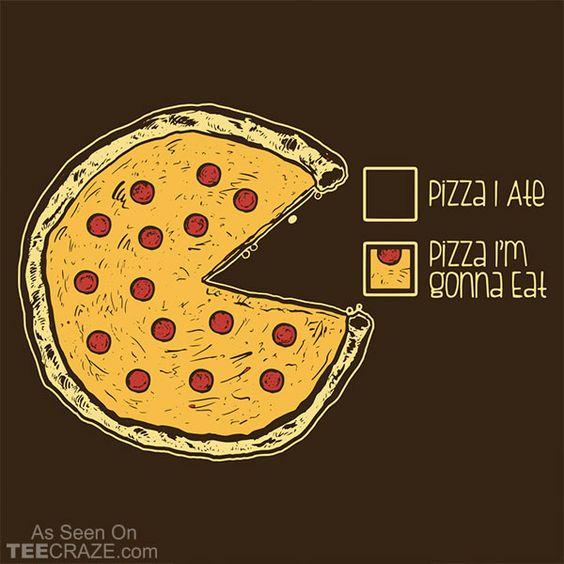 Прикольные и необычные картинки пиццы для срисовки - сборка 6