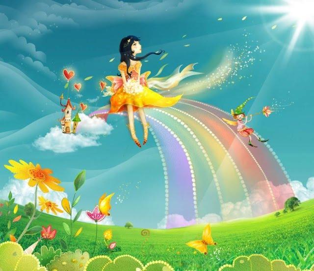 Радуга картинки для детей и малышей - самые красивые, прикольные 10