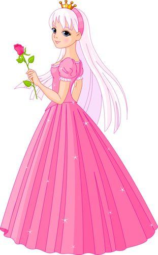Удивительные и красивые картинки принцесс, принцесс в платьях 1
