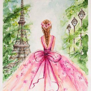 Удивительные и красивые картинки принцесс, принцесс в платьях 10