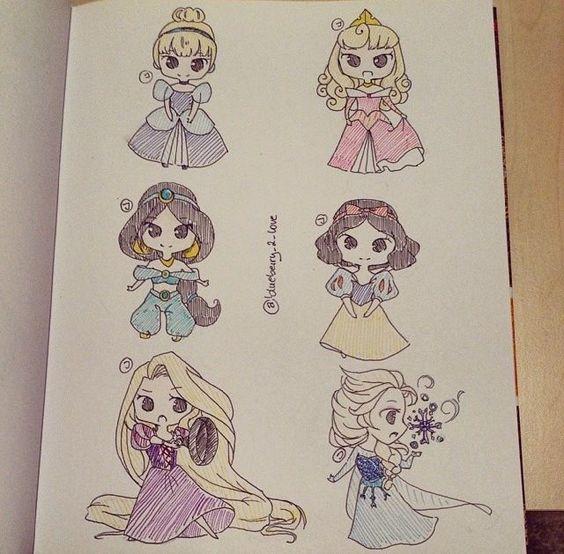 Удивительные и красивые картинки принцесс, принцесс в платьях 11