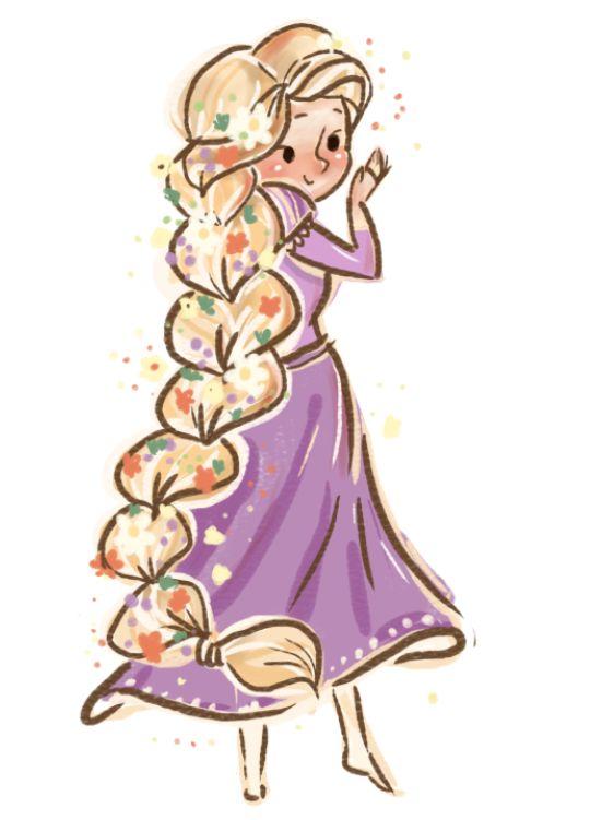Удивительные и красивые картинки принцесс, принцесс в платьях 16