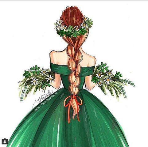 Удивительные и красивые картинки принцесс, принцесс в платьях 20