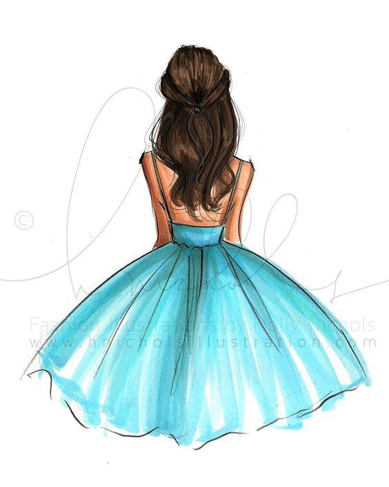 Удивительные и красивые картинки принцесс, принцесс в платьях 4