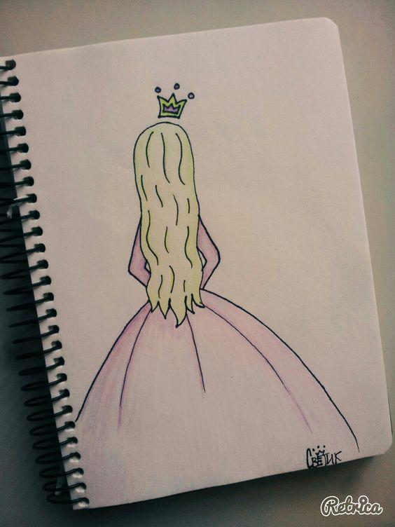 Удивительные и красивые картинки принцесс, принцесс в платьях 6