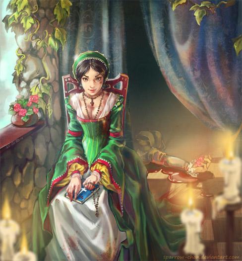 Удивительные и красивые картинки принцесс, принцесс в платьях 8