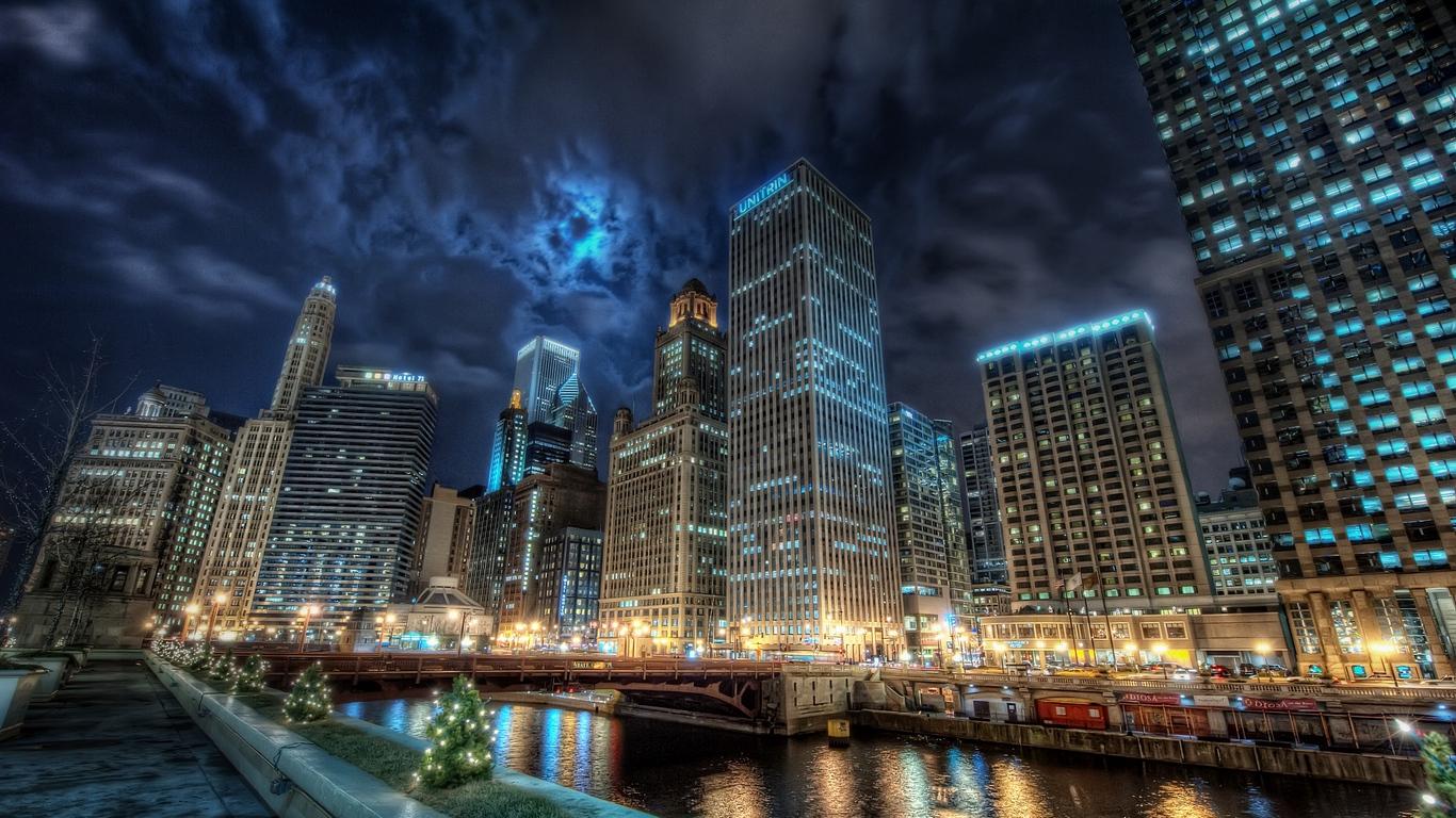 Удивительные обои разных городов для рабочего стола - подборка №10 9