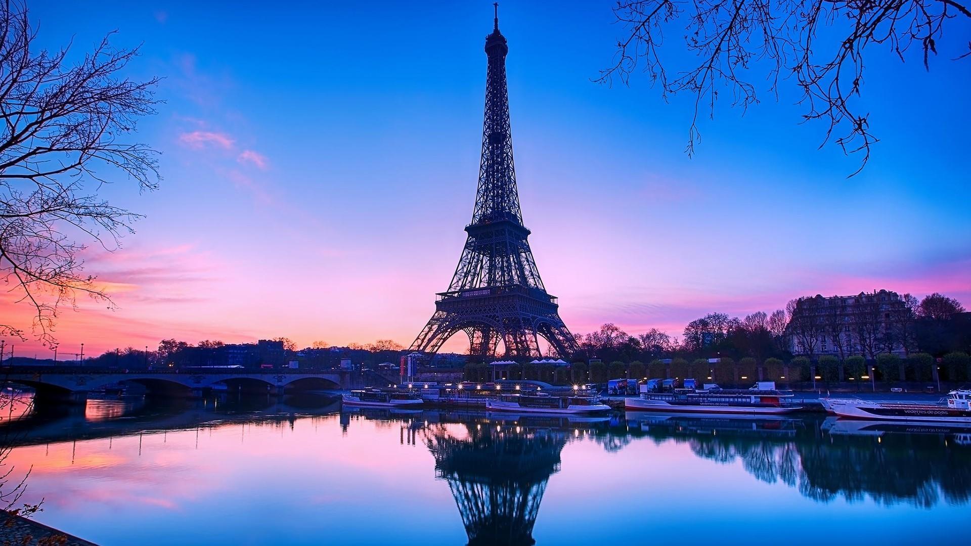 Эйфелева башня - очень красивые и удивительные картинки 1
