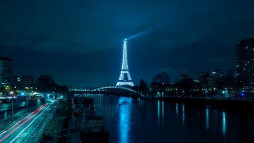 Эйфелева башня - очень красивые и удивительные картинки 11