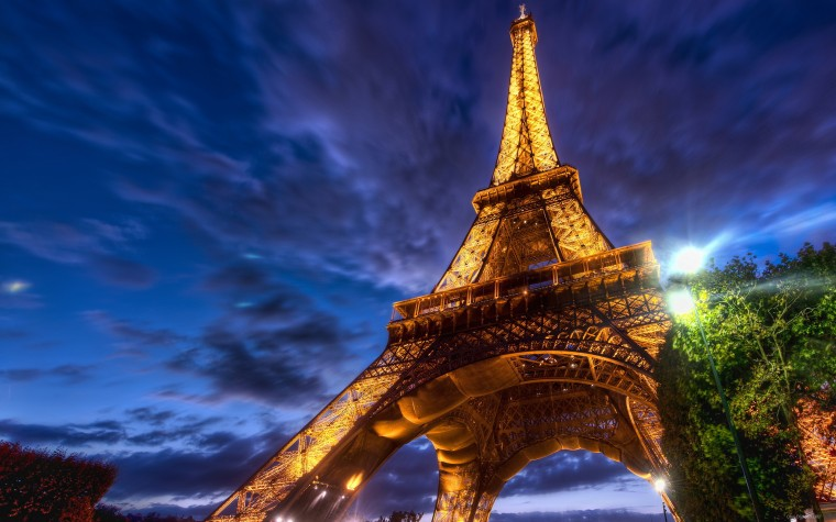 Эйфелева башня - очень красивые и удивительные картинки 5