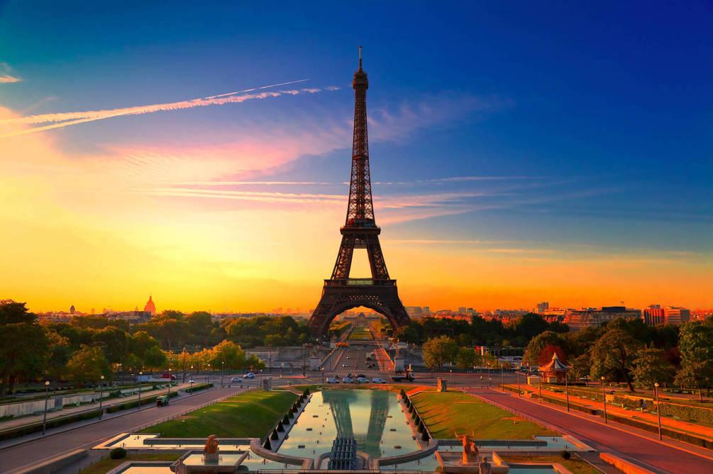 Эйфелева башня - очень красивые и удивительные картинки 6