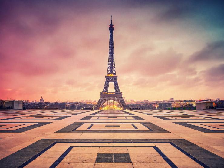 Эйфелева башня - очень красивые и удивительные картинки 9