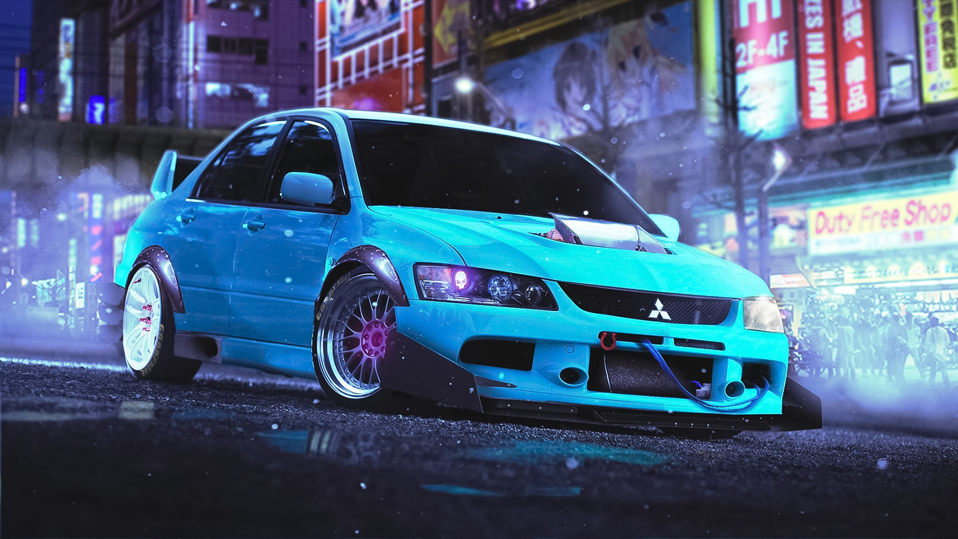 Mitsubishi-Lancer-Evolution-9-blue-car_1920x1080