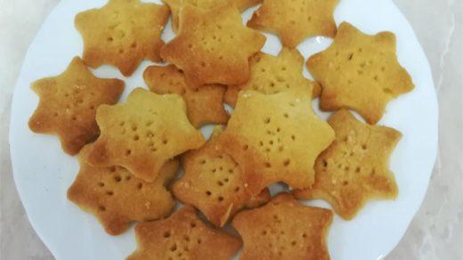 Вкусное печенье на Новый год. Как приготовить печенье «Шортбред» 9