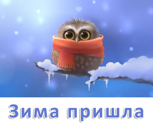 Картинки Вот и декабрь!, Зима пришла - самые прикольные 6