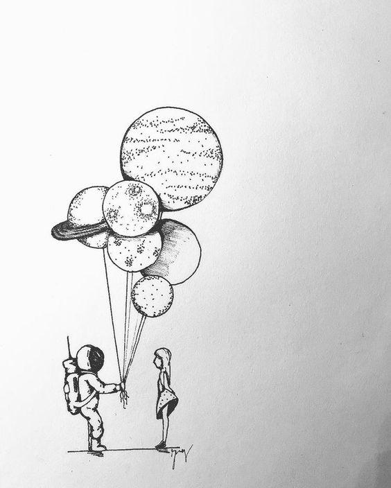 Картинки для срисовки не очень сложные и простые - подборка 4