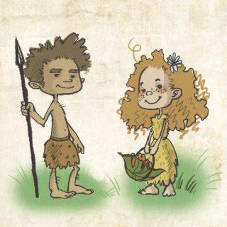 Картинки древний человек для детей - самые прикольные и интересные 15