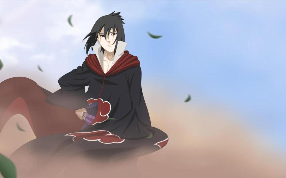 Классные картинки Саске Учиха. Подборка изображений из аниме Наруто 8