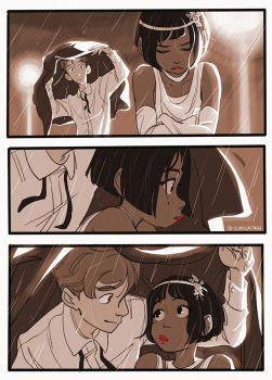 Красивые иллюстрации и мини-комиксы про девушек и парней - сборка 7