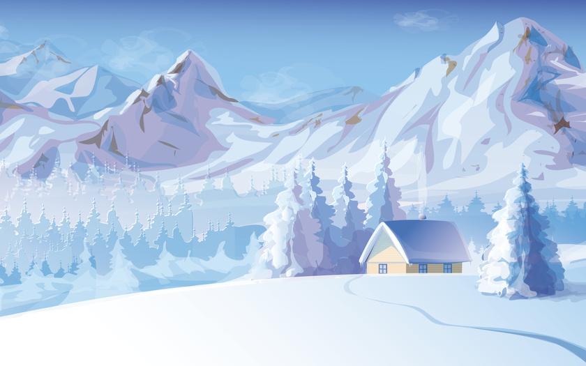 Красивые и прикольные картинки, рисунки гор для срисовки - сборка 14