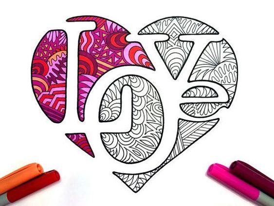 Красивые картинки Сердца для срисовки - самые необычные 1