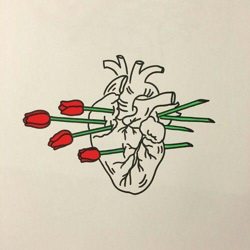 Красивые картинки Сердца для срисовки - самые необычные 11