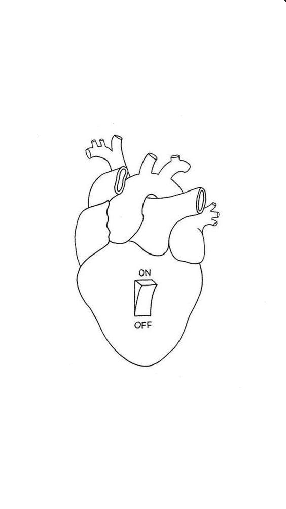 Красивые картинки Сердца для срисовки - самые необычные 12