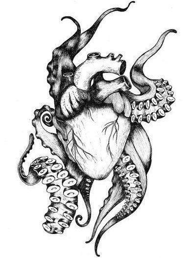 Красивые картинки Сердца для срисовки - самые необычные 3