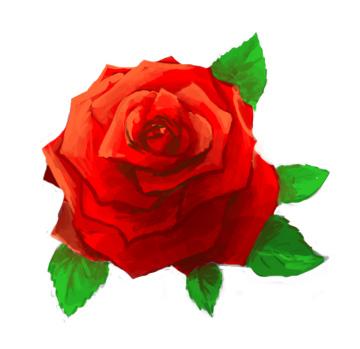 Красивые картинки и рисунки розы для детей - прикольная подборка 10