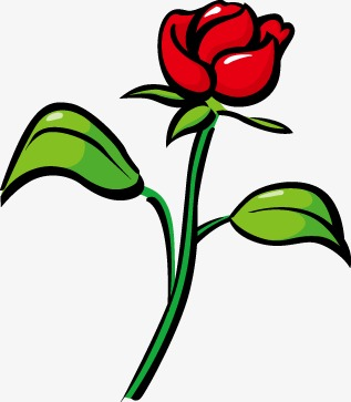 Красивые картинки и рисунки розы для детей - прикольная подборка 2