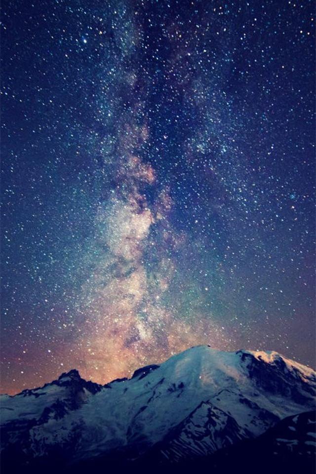 Красивые картинки на телефон Звездное небо на заставку - подборка 11